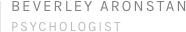 Bev Aronstan Psychologist Sydney